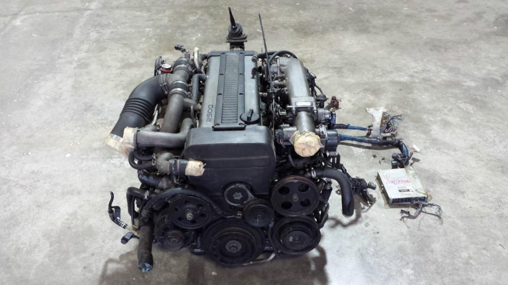 TOYOTA 1JZGTE NO TRANSMISSION ENGINE SWAP