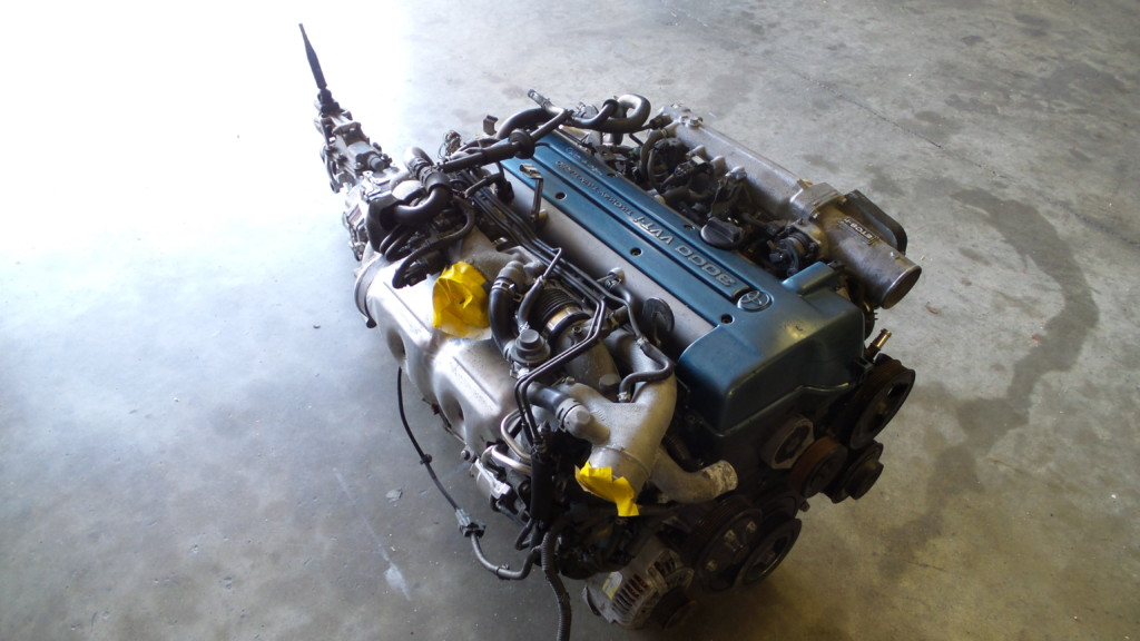 TOYOTA 2JZGTE VVTI/5 SPEED (R154) ENGINE SWAP