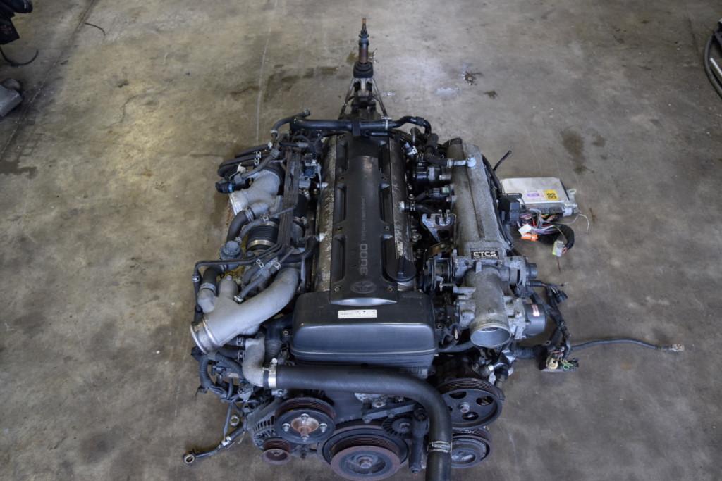 TOYOTA 2JZ GTE V160 TRANSMISSION ENGINE SWAP